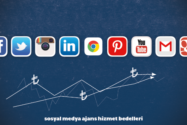sosyal medya ajans hizmet bedelleri